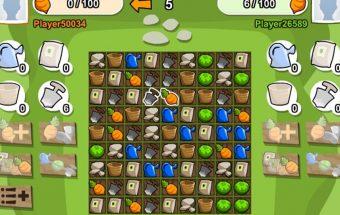 Loginis žaidimas online surink 100 morkų greičiau