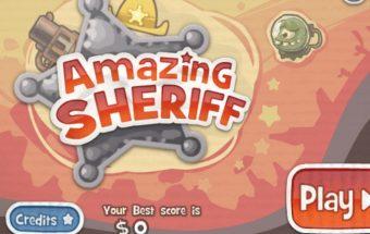 Veiksmo žaidimas šerifo šūvis.