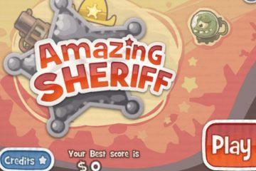 Nuostabus Šerifas – veiksmo žaidimas