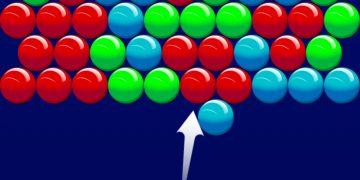 Burbulų šaudyklės žaidimas burbuliukų iššūkis
