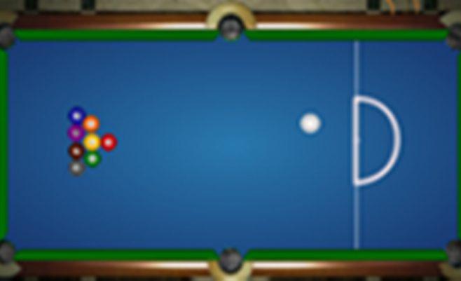 Pool biliardo žaidimas iš 8