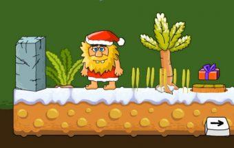 Pabėgimo kambarys idėjos žaidimas - Adamas ir Eve per Kalėdas.