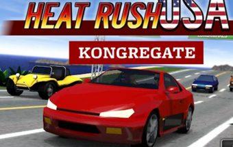 Mašinų lenktynių žaidimas apie Amerikietišką mašiną