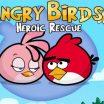 Vaikų žaidimas apie Piktus paukščius - Angry Birds Hero
