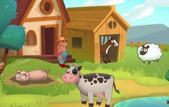 Ūkio žaidimas online su mergaite vardu Ana.