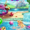 Princesė Ana baseine.