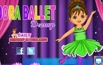 Puikus žaidimas apie Balerinas kurioje balerina yra Dora