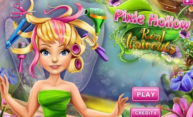 Mergaitės Barbės šukuosena - mergaičių žaidimas, kuriame tu tapsi kirpėja.