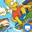 Simpsonų žaidimas apie Bartą kuris skrieja kaip vėjas