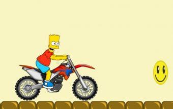Simpsonai online - Barto motociklas