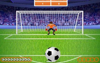 Tai naujas futbolo žaidimas - Baudinių serija.