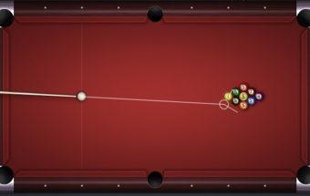 Biliardo žaidimas 9 kamuoliukų pulas internete.