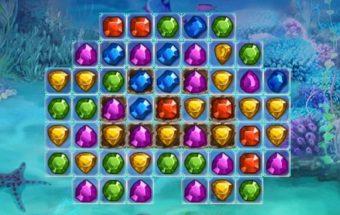Loginis žaidimas apie deimantus.