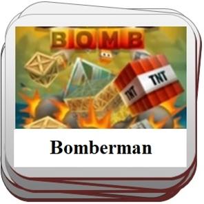 Žaidimai kuriuose reikia dėlioti bombas.
