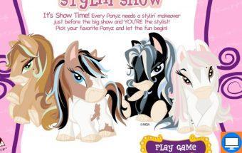 Arkliukų žaidimai mergaitėms ir tinka berniukams apie Ponius