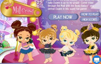 Bratz panelės kurios yra tikros madistės. Žaidimas mergaitėms ir jų draugėms.