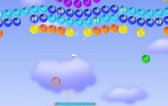 Žaidimas apie burbulų naikinimą - burbuliukų karalystė.
