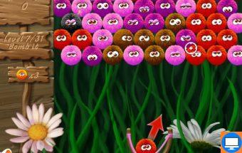 Žaidimas - Burbuliukai Woobie į kuriuos reikia pataikyti