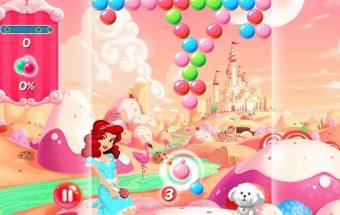 Žaidimas apie burbuliukus. Šaudyk į burbulus