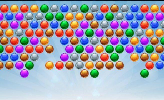 Burbuliukų žaidimas skirtas žaisti telefone.
