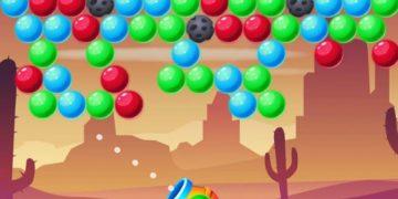 Burbulų šaudymas online.