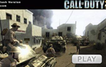 Šaudymas ir priešo naikinimas žaidime Call of Duty.