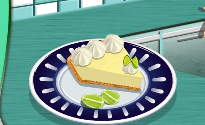 Pasigaminkite pyragėlį iš miltų ir citrinų.