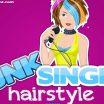 Paveiksliukas dainininkės stilius. Pirmiausia parink merginai šukuoseną. Tada galėsi parinkti sruogų spalvas. Paspausk ant sruogos o tada parink jai spalvą. Taip galėsi nudažyti visą šukuoseną.