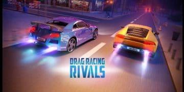 Automobilių drago lenktynės mieste. Dragas mieste ir gatvėse.