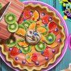 Egzotiško pyrago gaminimas, pyrago paruošimas, žaidimas mergaitėms.