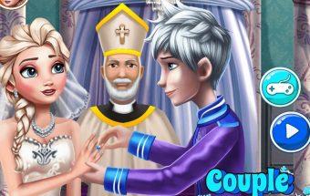 Elsos vestuvės, vestuvių žaidimas - tai linksmas ir intriguojantis mergaičių žaidimas.