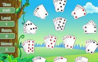Gėlėtų kortų žaidimas iš solitaire serijos