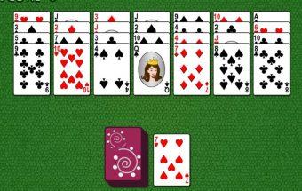 Žaidimas su Solitaire kortomis