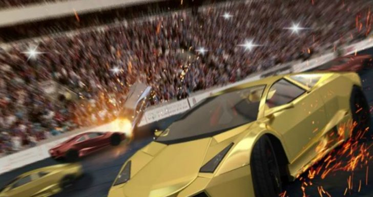 Greitos lenktynės vyksta mieste