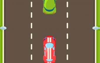 Lenktynių žaidimas vaikams apie greitosios automobilį