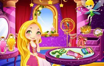 Tik šiame šauniame žaidime pamatyk gražiausią ilgakasę mergaitę iš visų ir padėk jai prisikviesti savo svajonių princą. Žaidimai mergaitėms.