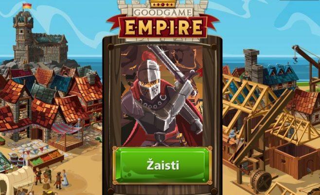 Žaisk žaidimą imperiją su draugais. Strateginis žaidimas Imperija prisijungus.