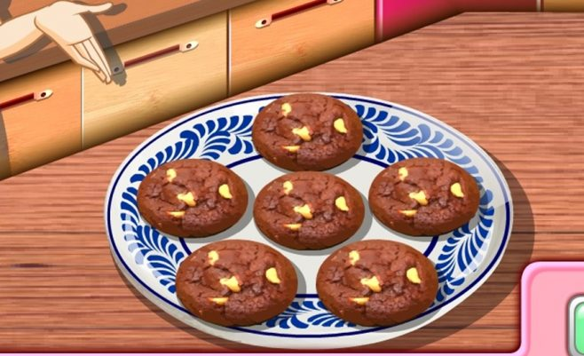Sausainių gaminimo žaidimas merginoms