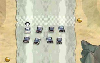 Mašinų drifto žaidimas apie visokius manevrus