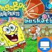 Žaidime Kempiniukas nori tapti geru krepšininku. Padėkite jam įmesti kamuolį.