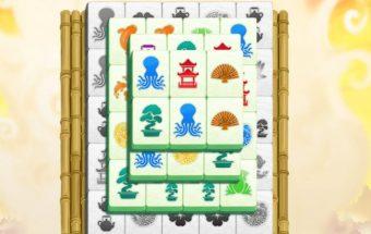 Loginis žaidimas - Kinų Mahjong.