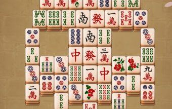 Ma Džongas - kiniečių mahjong žaidimai