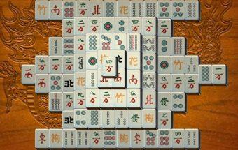 Kinietiškas mahjong žaidimas apie logiką