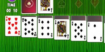 Žaidimas Klondike solitaire