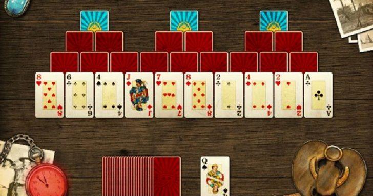 Žaidimas apie kortų skarabėjų kuris yra azartinis ir deimantinis