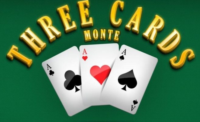 Kortų žaidimas - turnyras Monte Karle.