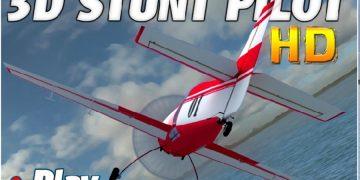 Lėktuvo pilotavimo žaidimas.