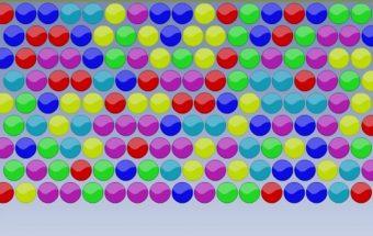Žaidimas apie burbulus - laimingi burbuliukai