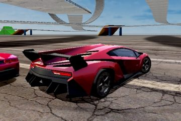 Lamborghini lenktynės mieste
