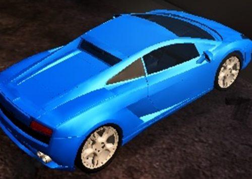 Lamborghini driftas, lenktynės su mašina